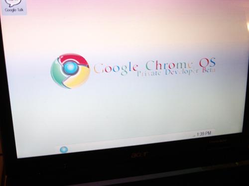 googlechrome fake Primeiras imagens do Google Chrome OS são falsas