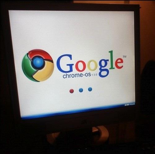 googlechrome fake2 Primeiras imagens do Google Chrome OS são falsas