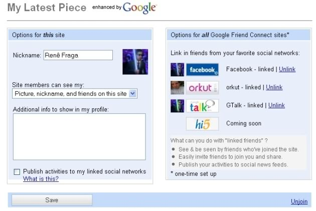googlefriend3 1 Descubra como funciona o Google Friend Connect (exclusivo)