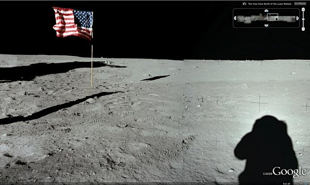 googlemoon3d Google Moon convida você a conhecer a Lua em 3D