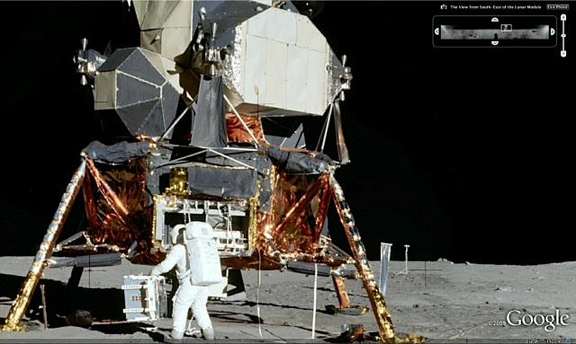 googlemoon3da Google Moon convida você a conhecer a Lua em 3D