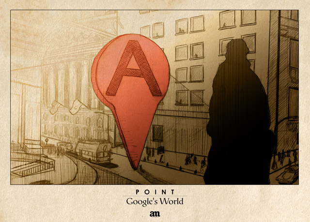 googles world 1 Artista mostra como seria o Google Maps na vida real