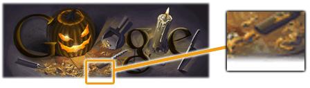 halloween2008 Google e a Conspiração dos Doodles Triforce