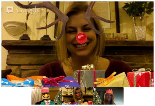 hangout efeitos natal e1355856364614 Reúna sua família neste Natal com os Hangouts do Google+