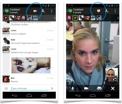 hangouts messenger Google anuncia novidades nos Hangouts do Google+