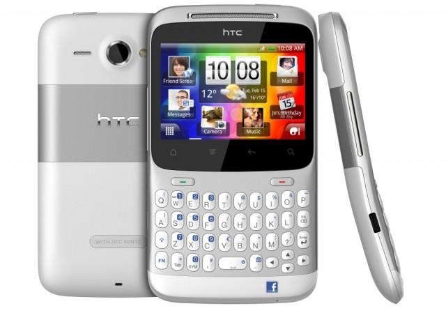 htc chacha e1298228342397 HTC ChaCha e HTC Salsa são projetados para as redes sociais