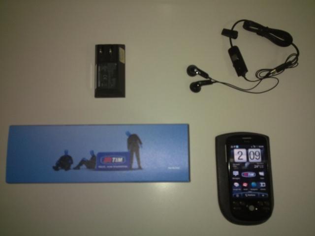 htc tim6 Unboxing do HTC Magic lançado pela TIM no Brasil