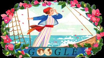 Jeanne Baret é homenageada com Google Doodle