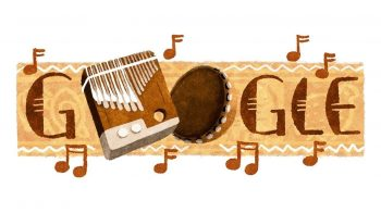 Doodle do Google celebra o mbira, instrumento musical do Zimbábue