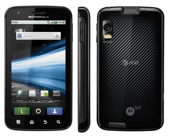 motorola Atrix 4G Motorola anuncia Atrix, o smartphone mais poderoso do mundo
