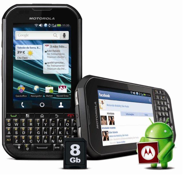 Motorola titanium 5