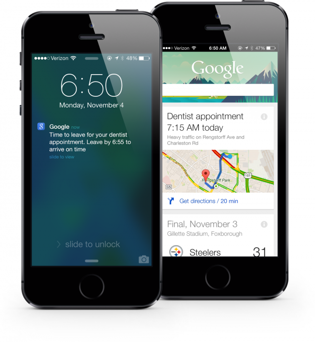 now notificaticoes ios e1383700591452 Google Search para iOS recebe melhorias no Google Now