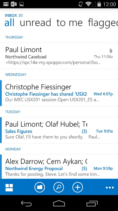 outlook-web-app-android