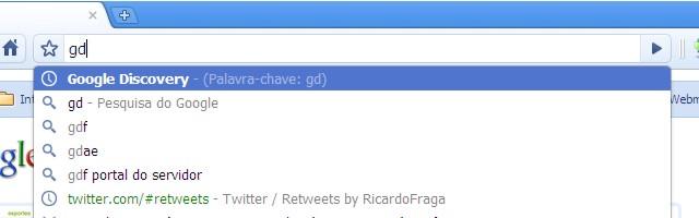 palavra chave chrome 4 Como adicionar palavras chave aos favoritos do Chrome