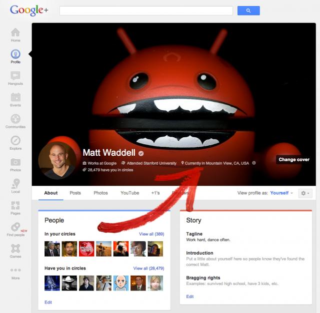 plus localizacao e1364334596869 Google+ ganha melhorias no Android e iOS