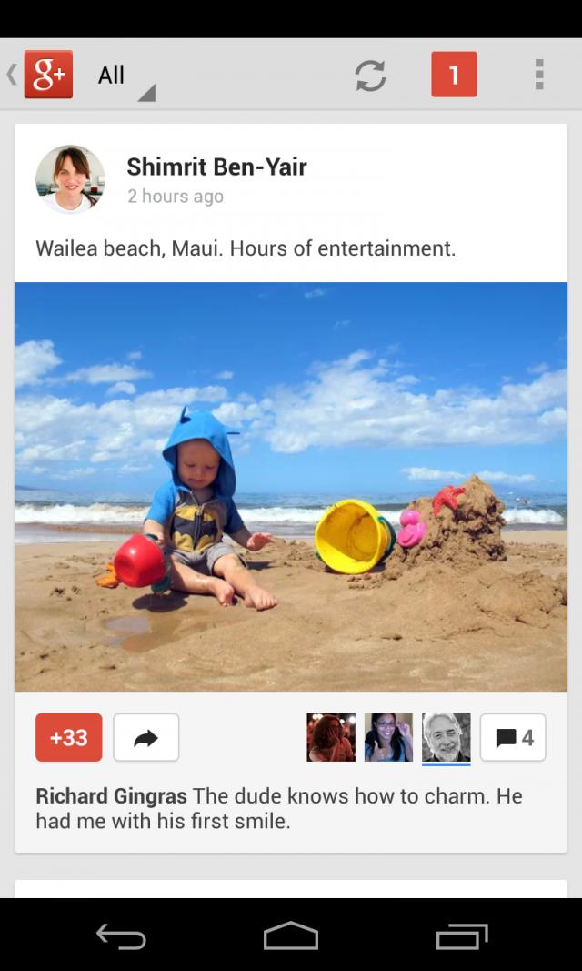 plus mobile e1364334809763 Google+ ganha melhorias no Android e iOS