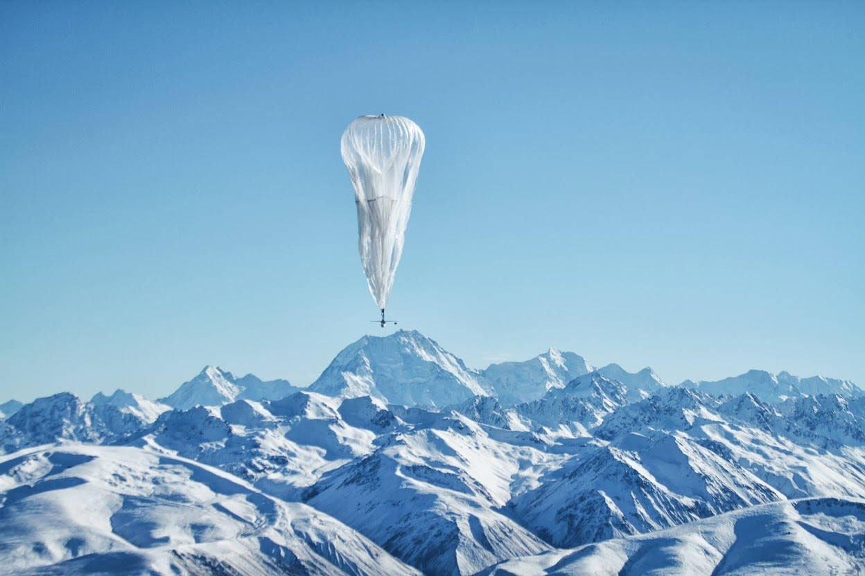 Alphabet lança balões de internet em operação comercial no Quênia