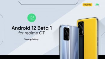 Realme anuncia Android 12 para o Realme GT