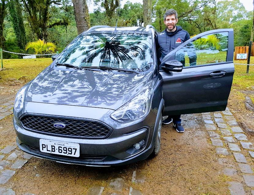 Experimentamos o Android Auto no Ford Ka 2019