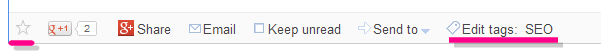 Rodapé por artigo do Google Reader