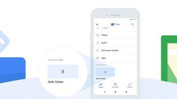Google Files ganha Pasta Segura para proteger arquivos