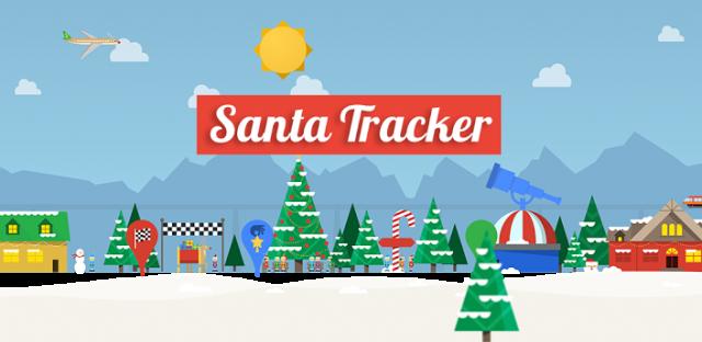 Google Santa Tracker - imagem retirada do site googlediscovery.com
