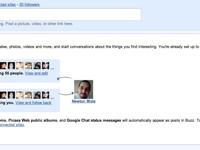 screen shot google buzz 1p Conheça o Google Buzz, a nova funcionalidade no Gmail