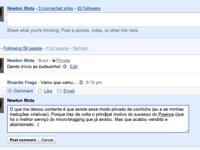 screen shot google buzz 2p Conheça o Google Buzz, a nova funcionalidade no Gmail