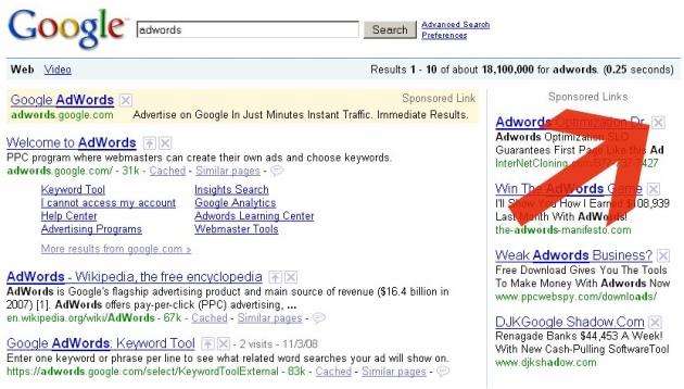 searchwikiadwords