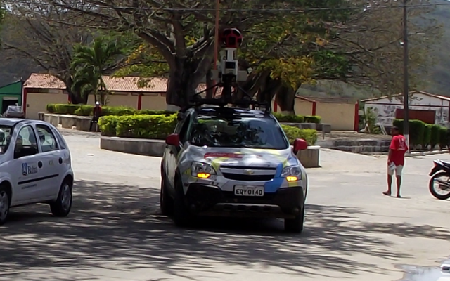 street view bahia e1346963241113 Carro do Google Street View é visto em Antonio Gonçalves, Bahia