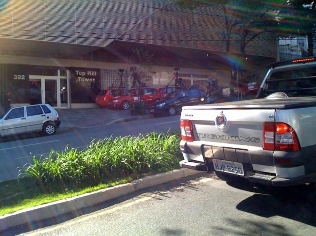 streetview stilo bh4 BH: Carros do Street View em frente ao Google Brasil