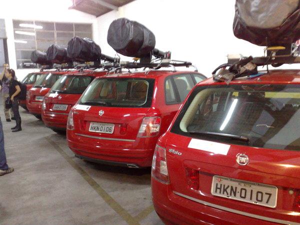 streetview stilo bh5 BH: Carros do Street View na Garagem do Google Brasil