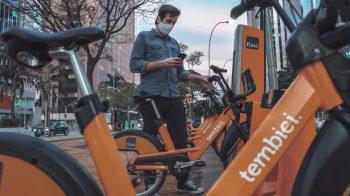 Tembici agora libera bicicletas por QR Code