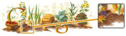 thanksgiving Google e a Conspiração dos Doodles Triforce