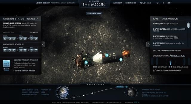wechoosethemoon We Choose The Moon: Acompanhe em tempo real a chegada do homem à Lua