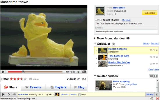 YouTube Toolbar